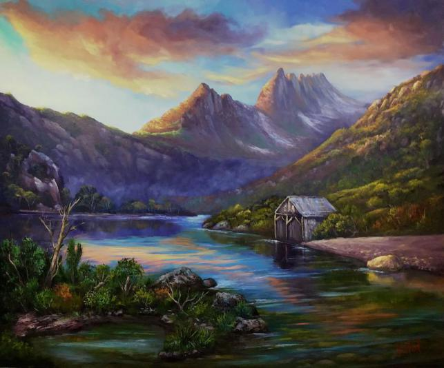 First Light On Cradle Mountain, Tasmania - Ready To Hang